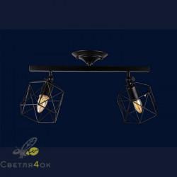 Светильник Лофт 756XPR101F-2 BK