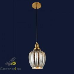 Светильник подвесной лофт 91620-1 BK