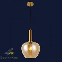 Светильник подвесной лофт 91625-1 BR