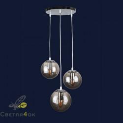 Светильник Лофт 756PR150F-3 CR+BK