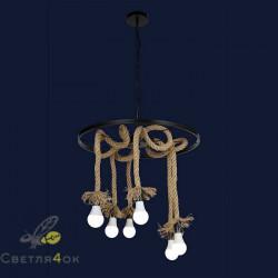 Светильник Лофт 910632-6 BK