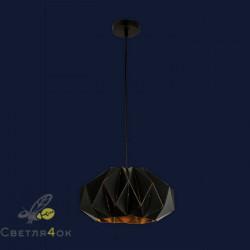 Светильник Лофт 911D02-1 BK