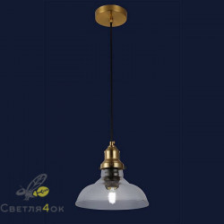 Светильник подвесной лофт 91601-1 CL