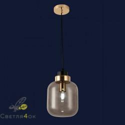 Светильник подвесной лофт 91618-1 BK