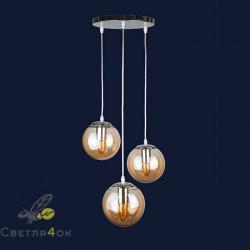 Светильник Лофт 756PR150F-3 CR+BR