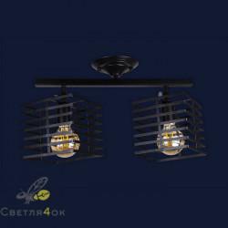 Светильник Лофт 756XPR104F-2 BK