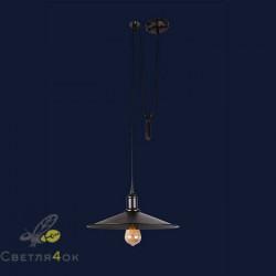 Светильник 752PB9F-1G BK(360)