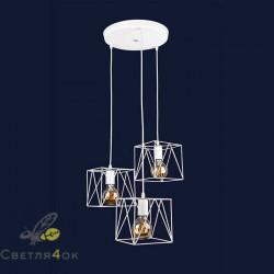 Светильник 756PR103F-3 WH (300)
