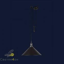 Светильник 7526855F-1G BK(360)