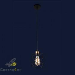 Светильник 756PR105F-1 BK+BRONZE