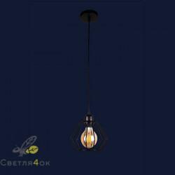 Светильник 756PR108F-1 BK