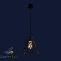 Светильник Лофт 756PR66096F-1 BK