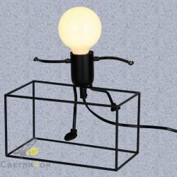 Настольний светильник 720T26016-L20 BK