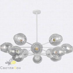 Люстра в стиле лофт 7526035-12 WH+CL