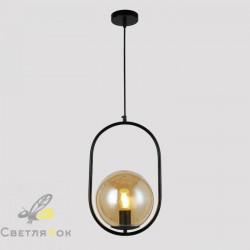 Подвесной светильник 91640-1 BK+BR