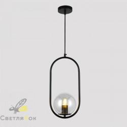 Подвесной светильник 91639-1 BK+CL