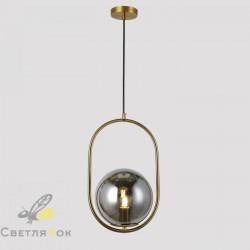 Подвесной светильник 91640-1 BRZ+BK