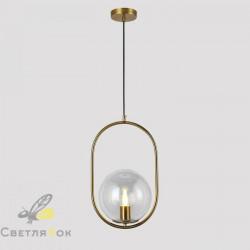 Подвесной светильник 91640-1 BRZ+CL