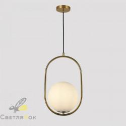 Подвесной светильник 91640-1 BRZ+WH