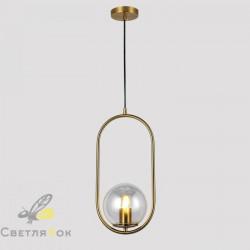 Подвесной светильник 91639-1 BRZ+CL
