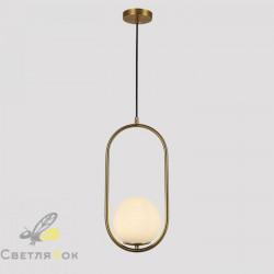 Подвесной светильник 91639-1 BRZ+WH