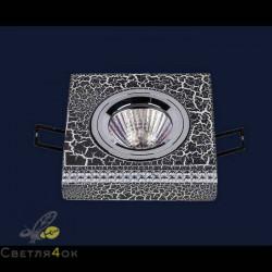 Точечный светильник 732M7070 CRAZE BK+SL