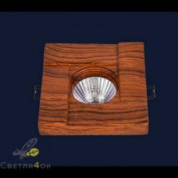 Точечный светильник732M7051 LRD-WOOD