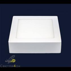 Точечный светильник 745SM-12W (квадрат) нейтральный