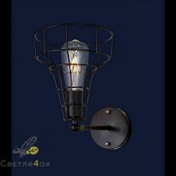 Светильник в стиле Лофт 707W108-1 BK