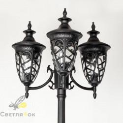 Садово - парковый светильник KX-4101 BK
