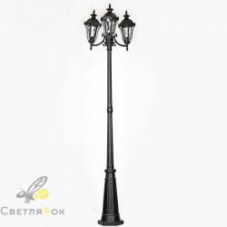 парковый светильник KX-3301 BK