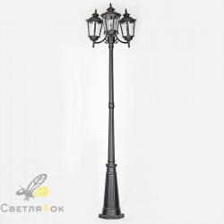 Садово - парковый светильник KX-4901 BK