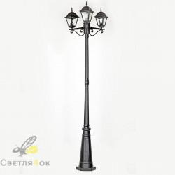 Садово - парковый светильник BS-7019A-3 BK