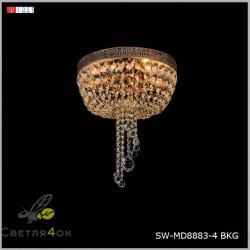 Люстра SW-MD8883-4 BKG