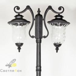 Садово - парковый светильник KX-86003 BK