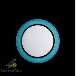 Люстра Светодиодная SC-8166/400BU BU+WT DIMMER