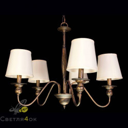 Люстра классическая Прованс 6026-5 Brown