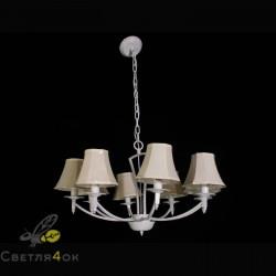 Люстра классическая Прованс 6027-8 D White