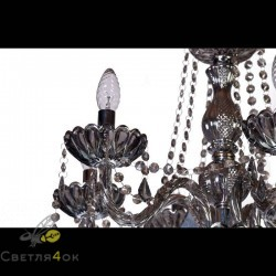 Классическая люстра - 8018-6 Black