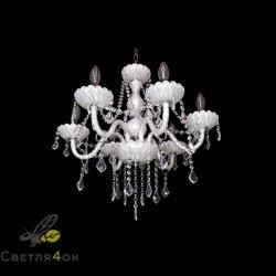 Классическая люстра - 8018-6 White