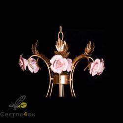 Декоративная люстра стиль флористика DAS-8013-8