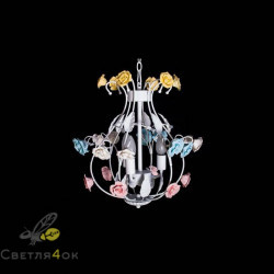 Декоративная люстра стиль флористика DAS-8093-3