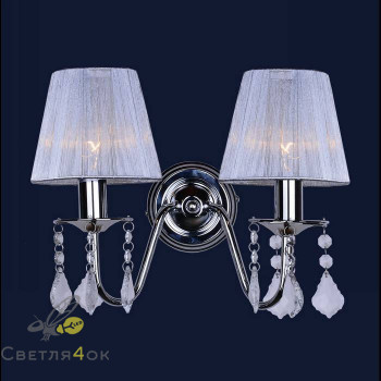 Бра с абажуром 720W4002WH-2 WH SILVER