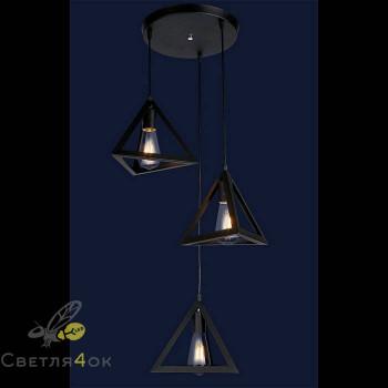 Светильник в стиле Лофт 7528873-3 BK