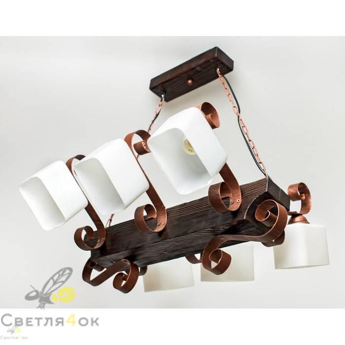 Светильник деревянный 0207