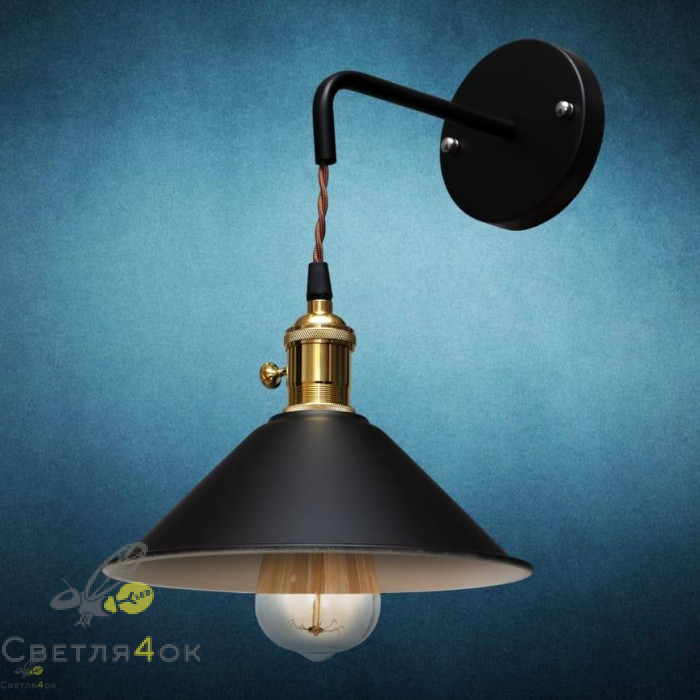 Светильник 752W9510 BK