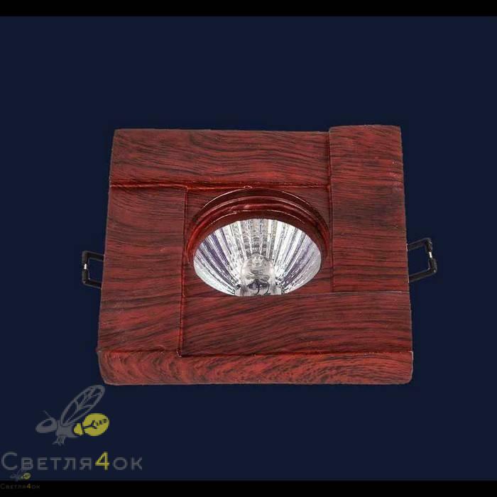 Точечный светильник 732M7051 RD-WOOD