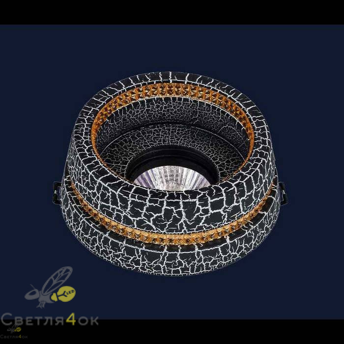 Точечный светильник 732M7072 CRAZE BK