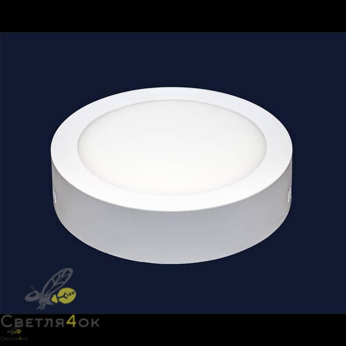 Точечный светильник 745SM-12W (круг) теплый