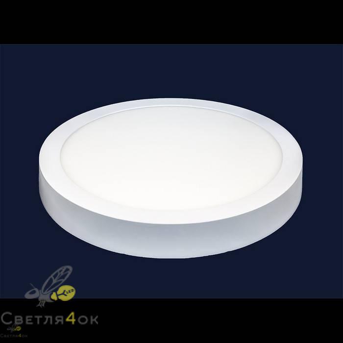Точечный светильник 745SM-24W (круг) теплый